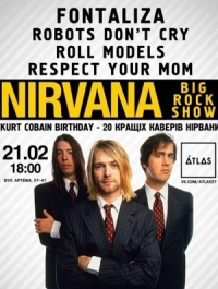 Nirvana big rock show