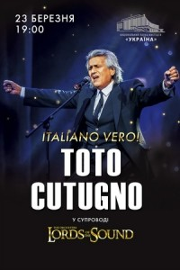 "Toto Cutugno & Lords of the Sound ""Italiano Vero"""