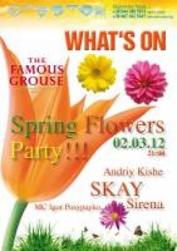 Spring Flowers Party